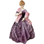 Royal Worcester First Dance 3629 By F.G. Doughty