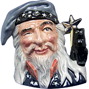 Royal Doulton Small Character Jug of The Wizard by Stanley J. Taylor