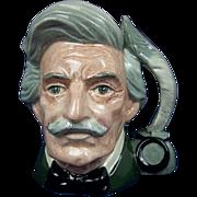 Royal Doulton Small Character Jug of Mark Twain by Eric Griffiths