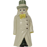 Vintage Royal Worcester Budge Candle Snuffer Figurine, 1976