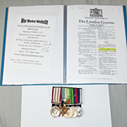 WW2 NGSM U Boat Kill MID Medal Group Of Six S.P.O. Alfred Henry Binfield
