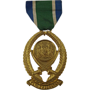 Sierra Leone Gallantry Medal - Bai Bureh Star