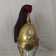 1871 Pattern 3rd Dragoon Guards (Prince Of Wales) Helmet OR #1