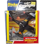 Boxed Dinky Toys 362 Trident Star Fighter 1978 #2