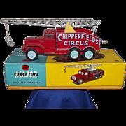 Boxed Corgi Toys 1121 Chipperfield's Circus Crane Truck #4