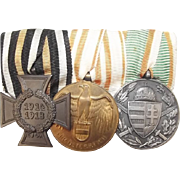 WW1 Austro-Hungarian Group Of 3 Medals