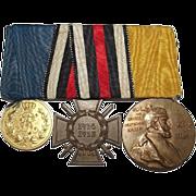 First World War German 3 Medal Group Inc. Honour Cross