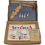 Boxed Givejoy Toys Skybirds Gloster Meteor Model c1945