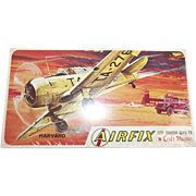 Sealed Airfix Harvard 1/72nd Scale Aircraft Boxed Kit 1963