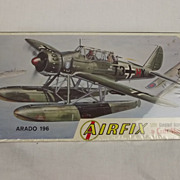 Sealed Airfix Arado 196 1/72nd Scale Aircraft Boxed Kit 1963