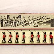 Britains - Set 1581 - The Royal Irish Fusiliers - 1937 Version