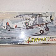 Airfix Fairey Swordfish 1/72nd Scale Aircraft Boxed Kit (1963) - Unopened