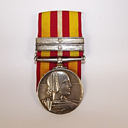 Florence Nightingale 'Voluntary Medical Medal' with Two Clasps