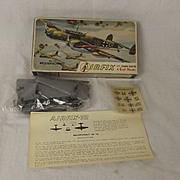 1st Issue Airfix Corporation Of America Aircraft Series - ME-110 Messerschmitt