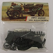 Airfix 1/32nd Scale Model Vintage Cars Series 1905  Rolls Royce 1963, 2nd Issue