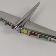 Circa 1953 Chromed Airplane Hudson Hornet Car Hood Mascot