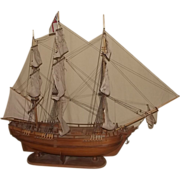 Scratch Built Model Of The HMS Bounty 1787 1:36 Scale
