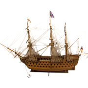 Well Built HMS Victory Model 1:98 Scale