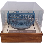 Engineers Scale Model Of A Hydraulic Turntable