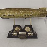 Graf Zeppelin Airship 1937 Memorial Desk Light