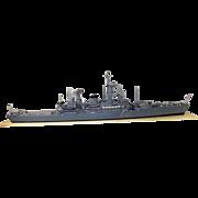 Scratch Built Leander Class Frigate Model HMS Cleopatra By Derek Head