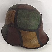 WW1 German M17 Stahlhelm Helmet #2