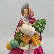Rare 1935 Bone China Figurine Noel by Royal Worcester 2905