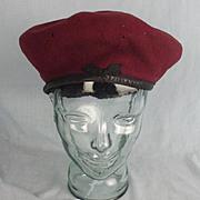 WW2 1945 British Airborne Forces Red Beret