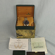 Boxed Rolex Two-Tone Stainless Steel Oyster Perpetual Date Submariner Watch