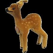 Steiff Plush Toy Of Deer Fawn, Bambi  Circa 1950's