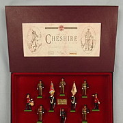 1989 Britains 5189 Limited Edition Set Of The 22nd Cheshire Regiment