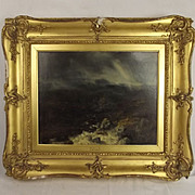 Lakeland Scene By J.W. Oakes A.R.A Framed Oil On Board Painting
