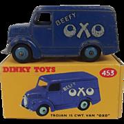 Dinky Toys No.453 (31D) Trojan 15 CWT Van 'OXO 1953-1954