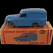 Dublo Dinky Toys No. 063 Commer Van 1958-1960