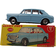 Boxed Dinky No. 140 – Morris 1100 Light Blue