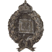 WW1 Prussian Observers Silver Badge