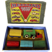 Boxed Meccano Dinky Toys Gift Set No. 33/1 Mechanical Horse & 5 Trailers 1935 ...