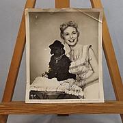 Signed Autograph Universal Janet Leigh Studio Shot 1956