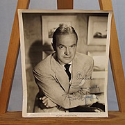 Signed Paramount Bob Hope Studio Shot 1956 Photograph By Bud Fraker