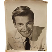 Signed Autograph Robert Wagner Studio Shot Circa 1950's