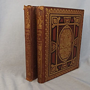 Picturesque Views Of Seats Of Noblemen & Gentlemen Of Great Britain & Ireland 2 Vols