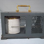 Vintage Short & Mason Thermograph in a Grey Metal Case