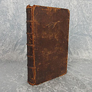 Contemplations Historical Passages Of Old & New Testament Vol 2 Joseph Hall 1749