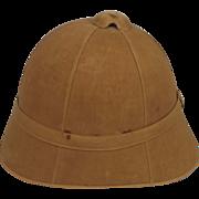Late Victorian / Boer War Period British Army Pith Helmet