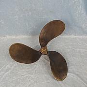 Bronze Three Blade Boat Propeller