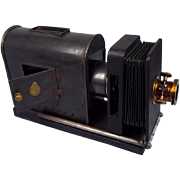 French Magic Lantern Slide Projector c1920