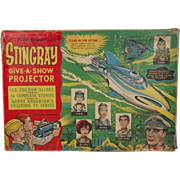 Boxed Chad Valley Stingray Give-A-Show Projector Circa 1964