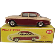 Dinky Toys No. 165 Humber Hawk - Repro Box