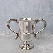 George III Two Handled Silver Cup Newcastle 1774