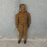 Rare WW1 Period Lord Kitchener Doll